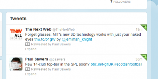 Paul Sawers tgw paul on Twitter 520x261 RetransTwitter: This Web app lets you auto retweet your favorite Twitter accounts