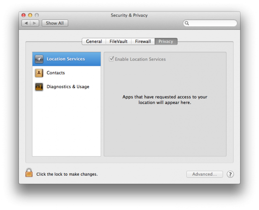 Preferences Location Data Contacts 520x422 TNW Review: OS X 10.8 Mountain Lion