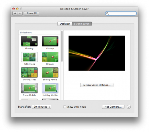 Preferences Screensav 520x460 TNW Review: OS X 10.8 Mountain Lion