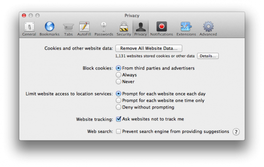 Safari do not track 520x329 TNW Review: OS X 10.8 Mountain Lion
