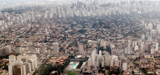 Sao Paulo Air View by Roger Wollstadt