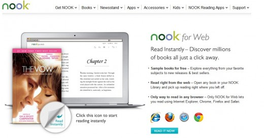 a14 520x272 Barnes & Noble launches Nook for Web, giving access to e books from any computer browser