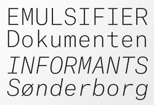 30 New Typefaces You Need to Know About