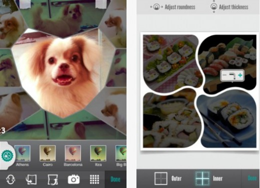 b4 520x376 Fuzel now lets you create awesome photo collages on your iPhone for free