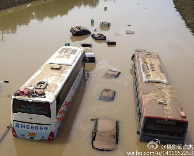 Sina Weibo, China's Twitter, comes to rescue amid flooding in Beijing