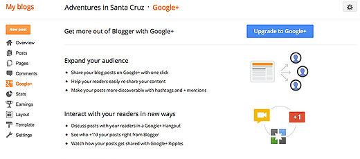 blogger Google+ integration arrives for Blogger, with more new features on the way