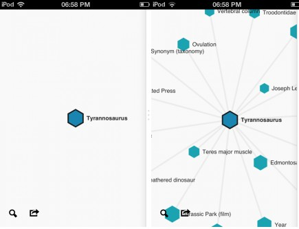 c1 Wikiweb: A beautiful iOS Wikipedia app that lets you visualize connections between articles