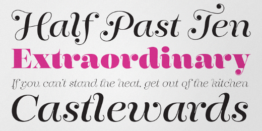 encorpada 30 new typefaces released last month that you need to know about (July)