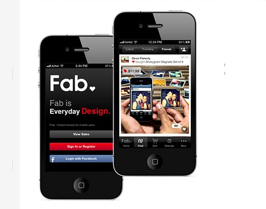 Social shopping site Fab upgrades mobile experience for its 5.5m users with Live Feed and more, adds ...