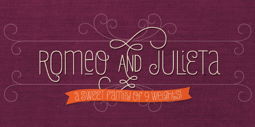 julieta 30 new typefaces released last month that you need to know about (July)