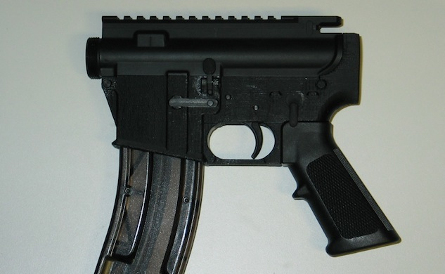 The world's first 3D-printed gun is a terrifying thing