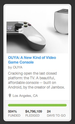 ouya kickstarter almost 5m This week in media, from Aereo to Ouya