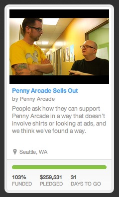 penny arcade kickstarter funded This week in media, from Aereo to Ouya