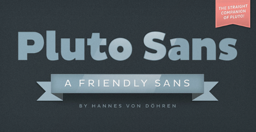 pluto sans 30 new typefaces released last month that you need to know about (July)
