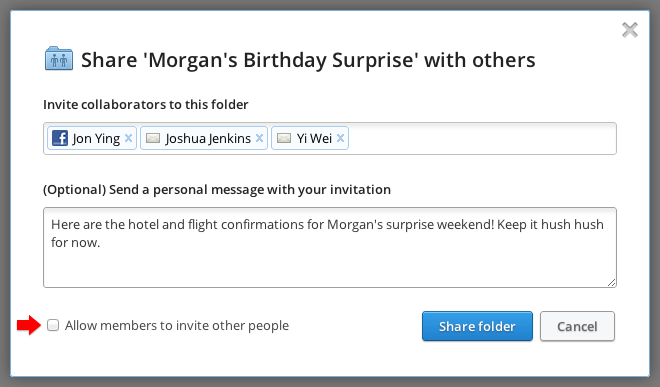 Dropbox Now Lets Shared Folder Users Pass On Invitations