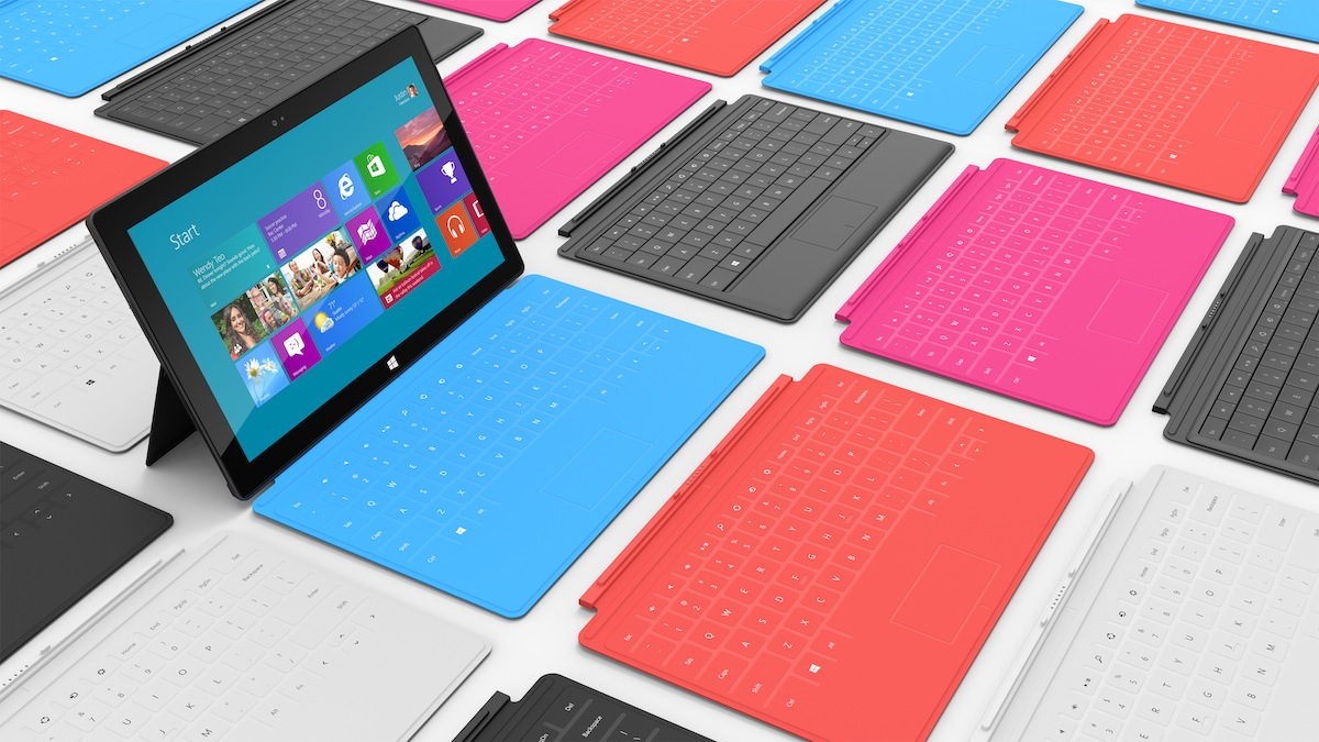 Microsoft's first national ad for the Surface tablet is seriously weird stuff