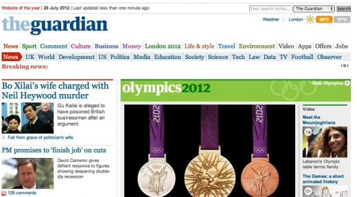 the guardian hide olympics 520x287 Fed up with the Olympics? The Guardian lets you hide its Games coverage