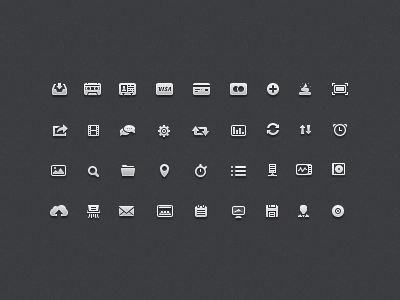 toupload Size matters: 21 Gorgeous petite icon sets crafted by pixel perfect designers