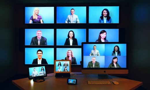 vidyo multi point 520x313 Video conferencing firm Vidyo launches free service VidyoWay