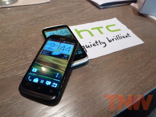 P1020350wtmkwtmk 520x390 HTC introduces the Desire X, its new 4 inch, 1GHz dual core, mass market Android smartphone