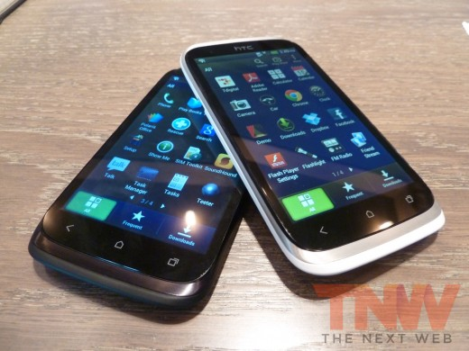 P1020366wtmkwtmk 520x390 HTC introduces the Desire X, its new 4 inch, 1GHz dual core, mass market Android smartphone