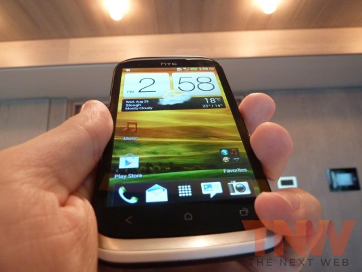 P1020390wtmkwtmk 520x390 HTC introduces the Desire X, its new 4 inch, 1GHz dual core, mass market Android smartphone