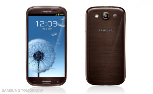 Samsung Galaxy S III coming in new brown, red, black and grey colour variants