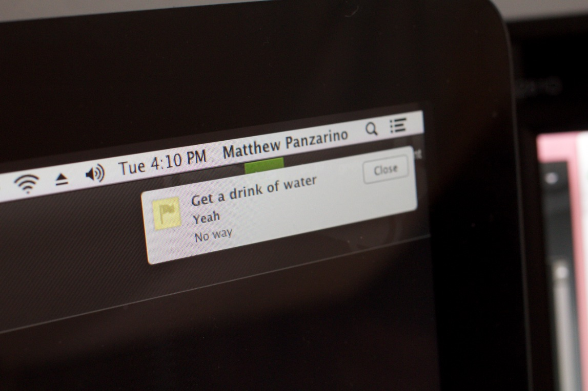 Pin quick reminders to your Mac desktop with the clever Sticky Notifications