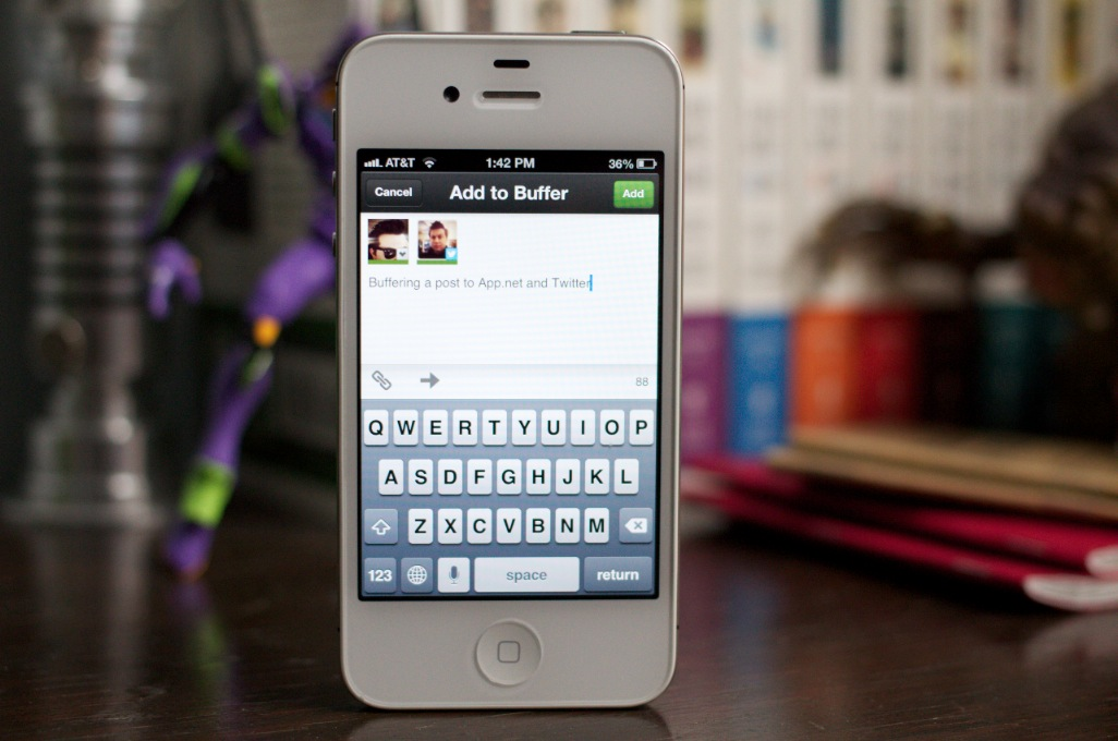 Buffer becomes the first app in Apple's iOS App Store to support App.net