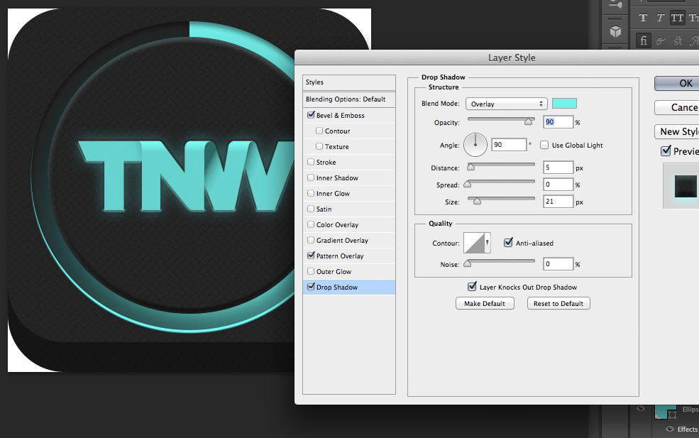 TNWTron SC17 How to create an awesome Tron inspired app icon