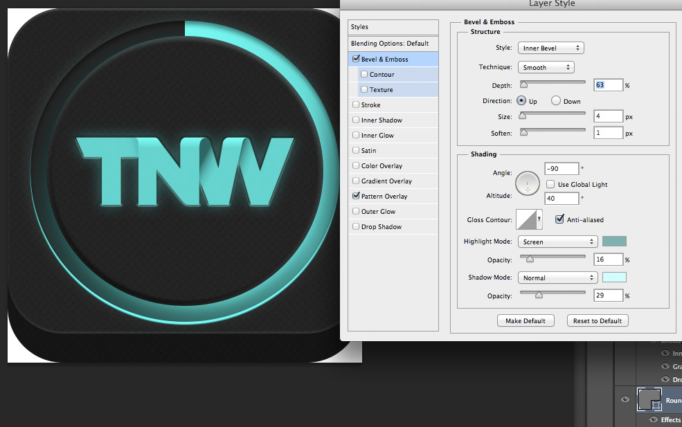 TNWTron SC19 How to create an awesome Tron inspired app icon