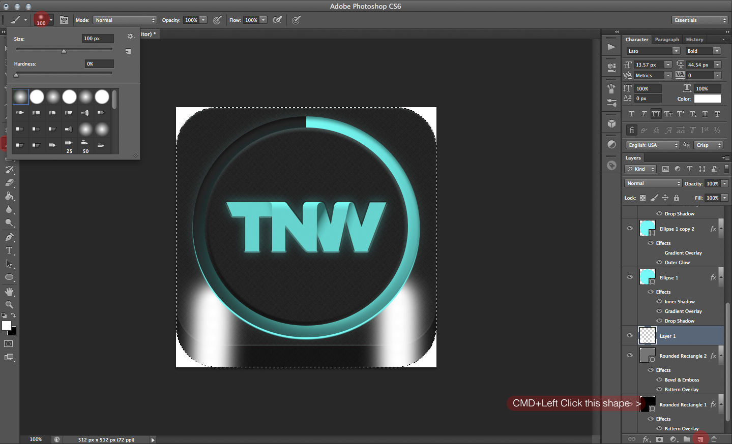 TNWTron SC20 How to create an awesome Tron inspired app icon