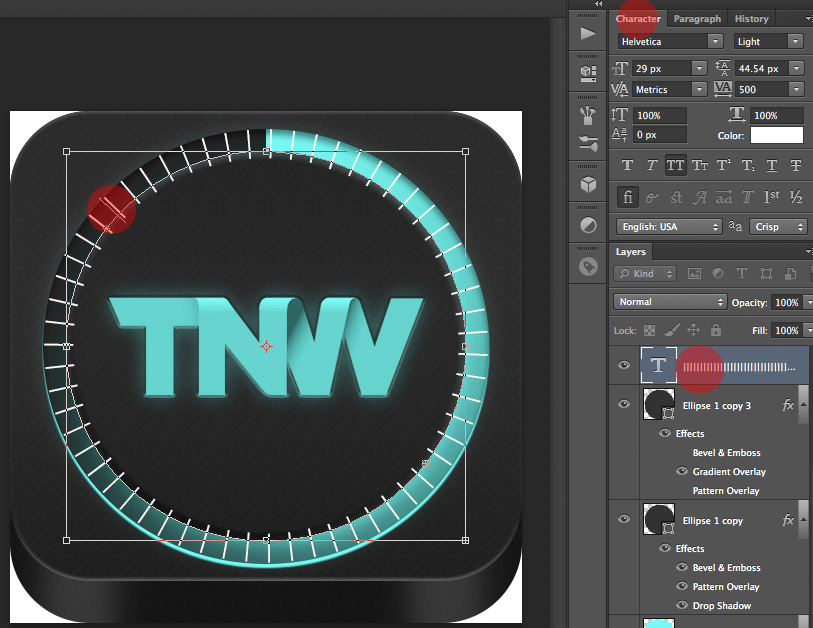 TNWTron SC24 How to create an awesome Tron inspired app icon