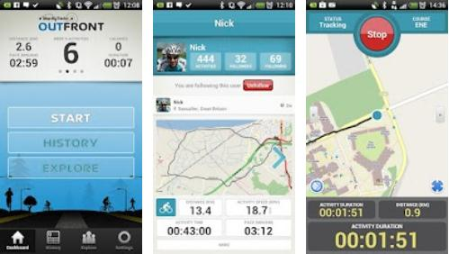Map My Tracks OutFront Lands On Android - Map my data