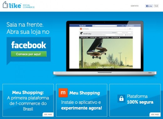 elike homepage 520x380 Intel Capital invests in Brazilian social commerce startup ELike