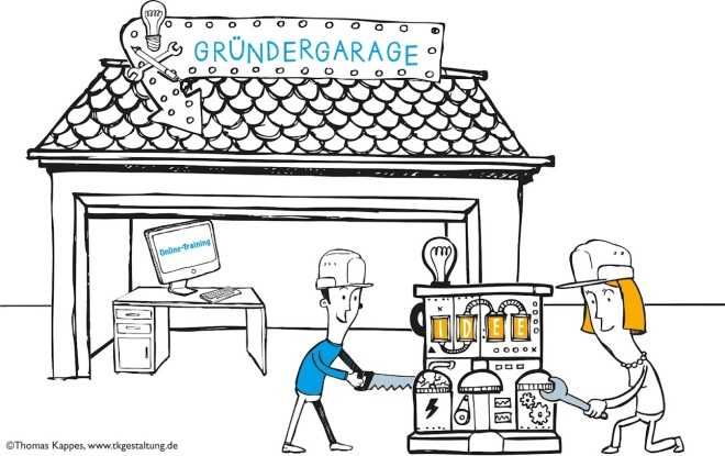 Google puts its weight behind Gründer Garage, a German startup competition that isn't limited ...