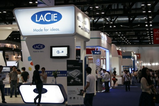 lacie 520x346 The second annual Macworld Asia event kicks off in Beijing