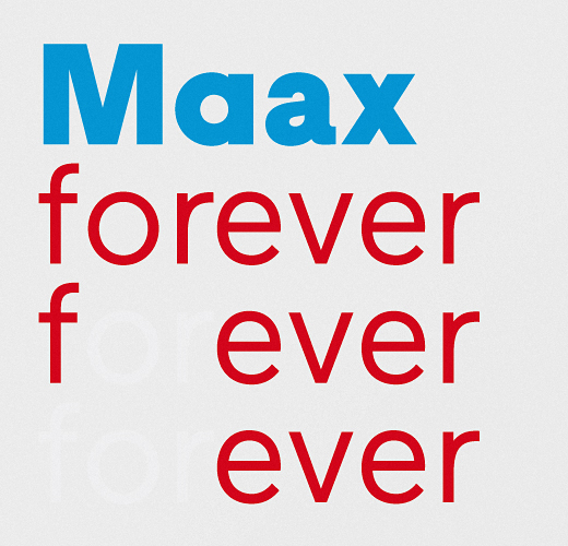 maax 25 Brand new typefaces released last month that you need to know about (August)