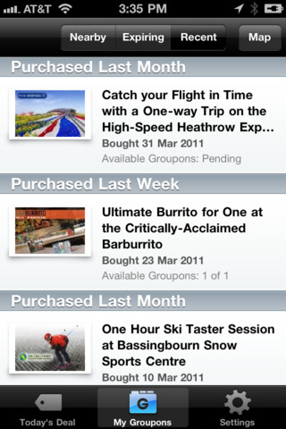 Groupon rolls out version 2 of its app, launches Rewards, its merchant loyalty program