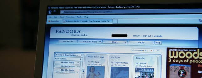 pandora internet radio by mr t in dc