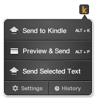 sendtokindlechrome Amazon releases Send to Kindle extension for Chrome, says Firefox and Safari support on the way