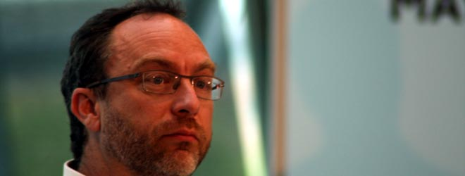 """Stay out of the way so that we can build a future"" Jimmy Wales talks politics and tech for London ..."