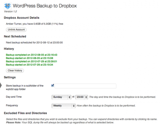 wpb2db 520x410 Bulletproof backup: How to make sure your desktop, mobile & web data are safe