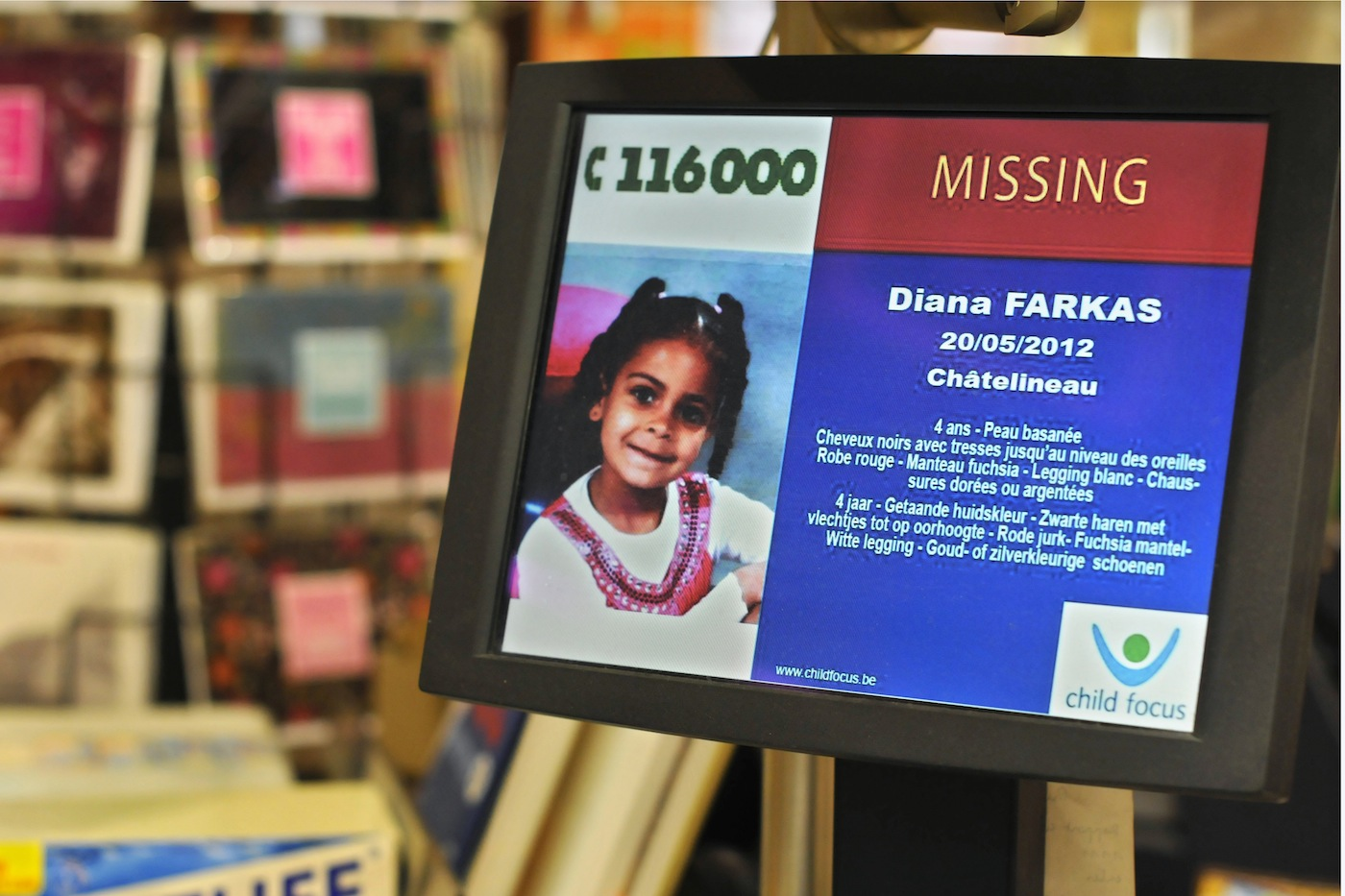 Great idea: Turn your website error pages into bulletins to help find missing children