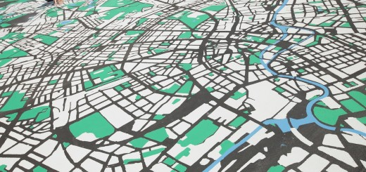 Artists Render Berlin Map Ahead Of 775th Anniversary