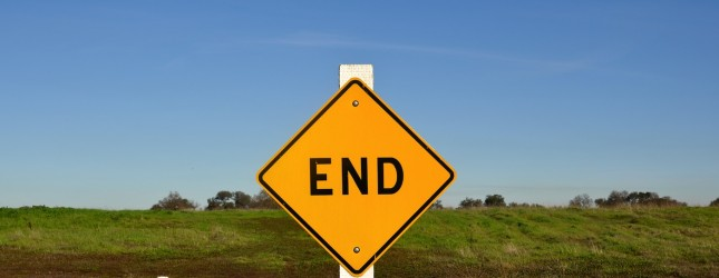 The End Sign