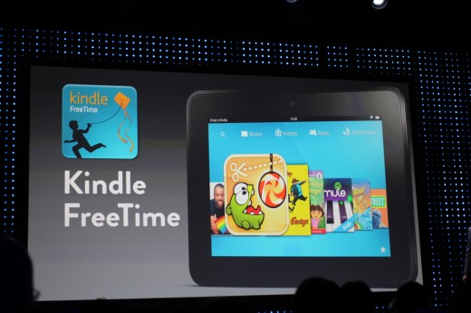 Amazon updates Kindle Fire HD with kid-friendly FreeTime feature, says HD is '#1 selling product' ...