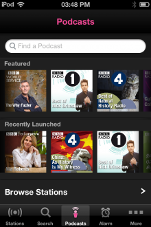 18 220x330 The BBCs new iOS iPlayer Radio app is available now, heres our full hands on review