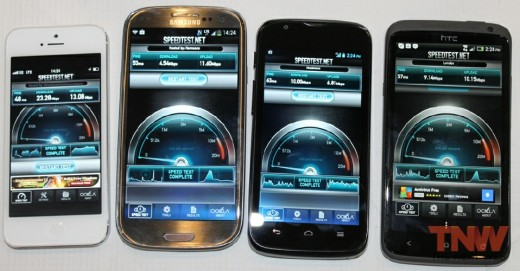4 x 4 High 520x271 Heres how the iPhone 5 fares on EEs new UK 4G network
