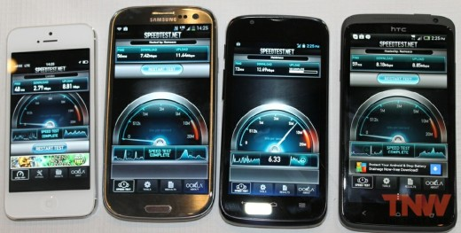 4 x 4 low 520x263 The 4G ready Samsung Galaxy S3, HTC One XL and Huawei Ascend P1 go on sale with EE in the UK today